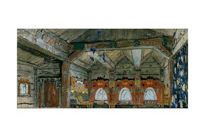 Stage Design for the Opera Prince Igor by A. Borodin, 1914-Konstantin Alexeyevich Korovin-Giclee Print