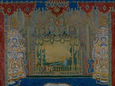 Stage Design for the Theatre Play Don Juan by Moliére, 1910-Alexander Yakovlevich Golovin-Giclee Print