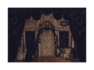 Stage Design for the Theatre Play the Masquerade by M. Lermontov, 1917-Alexander Yakovlevich Golovin-Giclee Print