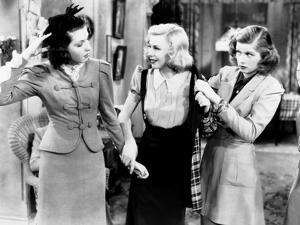 Stage Door, from Left, Ann Miller, Ginger Rogers, Lucille Ball, 1937