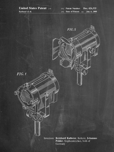 Stage Lighting Patent-Cole Borders-Art Print