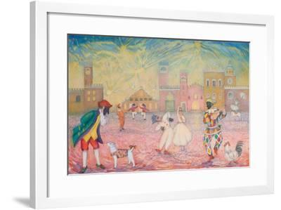 Stage of Fools 1-Silvia Pastore-Framed Giclee Print