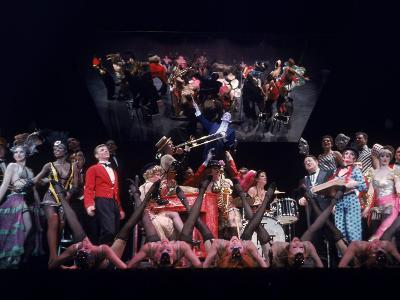 """Stage Production of the Musical """"Cabaret"""" Starring Joel Gray--Premium Photographic Print"""