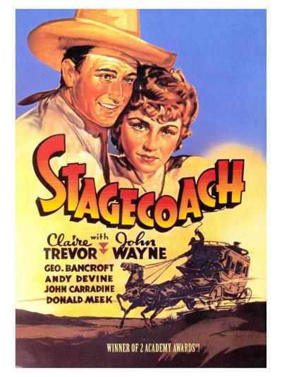 Stagecoach, 1939--Art Print