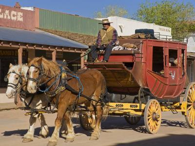 Stagecoach, Tombstone, Cochise County, Arizona, United States of America, North America-Richard Cummins-Photographic Print