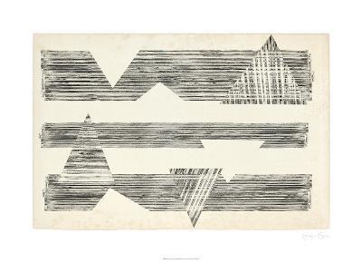 Stagger Triangles I-Jennifer Goldberger-Limited Edition