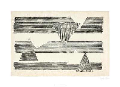 Stagger Triangles II-Jennifer Goldberger-Limited Edition