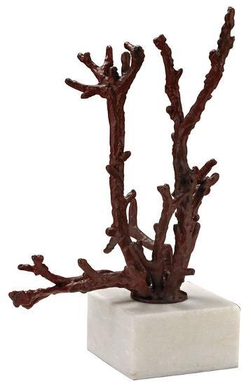 Staghorn Coral Sculpture - Red--Home Accessories