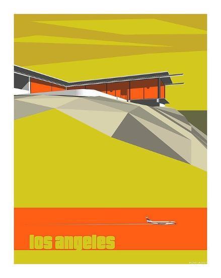 Stahl House-Michael Murphy-Art Print