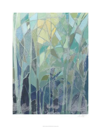Stained Glass Forest II-Grace Popp-Limited Edition
