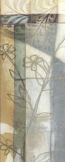 Stained Glass Garden IV-Jennifer Goldberger-Art Print