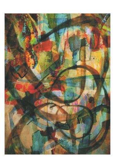 Stained Glass Graffiti-Smith Haynes-Art Print