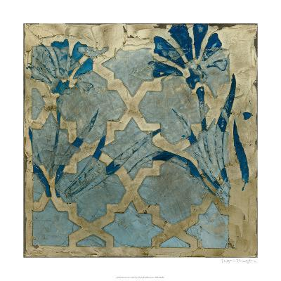 Stained Glass Indigo II-Megan Meagher-Limited Edition