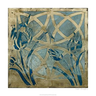 Stained Glass Indigo III-Megan Meagher-Limited Edition