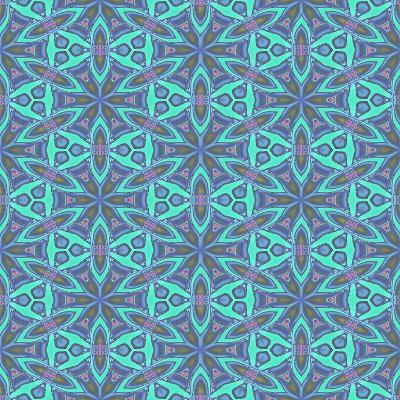Stained Glass Pattern-Cora Niele-Photographic Print