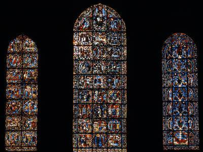 Stained Glass Window, Chartres Cathedral, France-Pol M.R. Maeyaert-Photographic Print