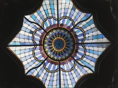 Stained Glass Window, Museum of Applied Arts--Giclee Print