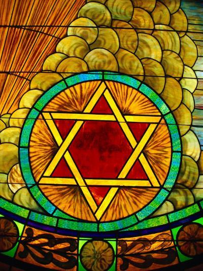 Stained Glass Window-Jeff Greenberg-Photographic Print