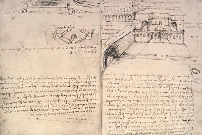Staircase-Leonardo da Vinci-Giclee Print