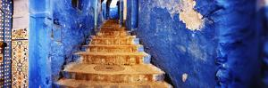 Staircases of the Medina are All Painted Blue, Chefchaouen, Morocco