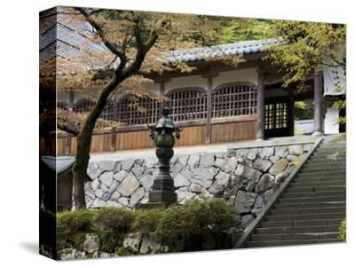 Stairway at Chujakumon Gate at Eiheiji Temple, Headquarters of Soto Sect of Zen Buddhism, Japan