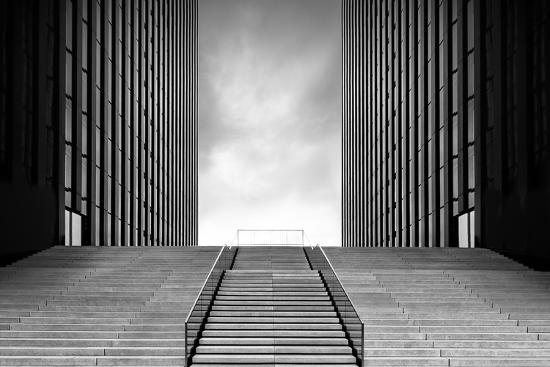 Stairway to Nothing-Oliver Koch-Photographic Print