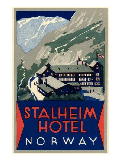 Stalheim Hotel, Norway--Art Print