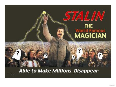 Stalin: The World Famous Magician--Art Print