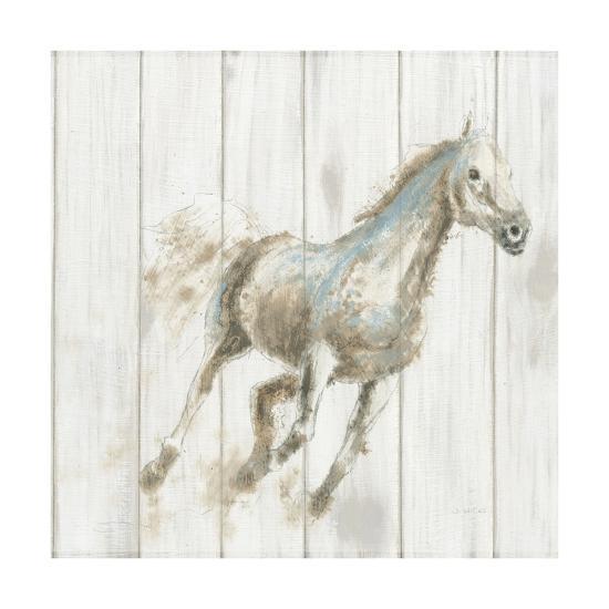 Stallion I on Birch-James Wiens-Art Print