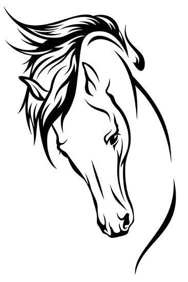 Stallion-Cattallina-Art Print