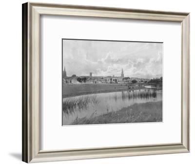'Stamford', c1896-GA Nichols-Framed Photographic Print