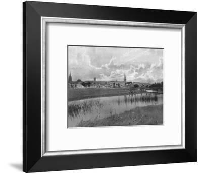 Stamford, c1900-GA Nichols-Framed Photographic Print