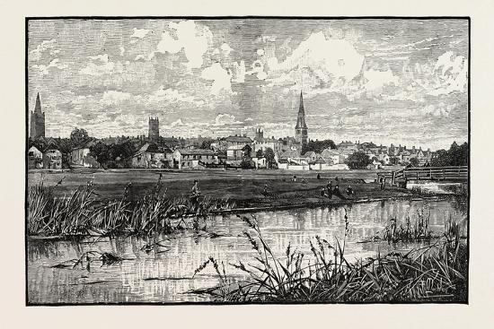 Stamford Is a Town and Civil Parish on the River Welland in the South Kesteven District of the Coun--Giclee Print
