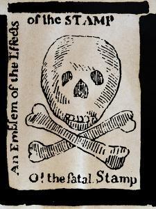 Stamp Act: Cartoon, 1765