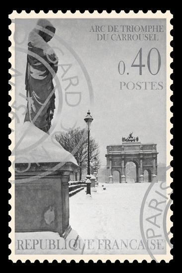 Stamp Collection I-The Vintage Collection-Giclee Print