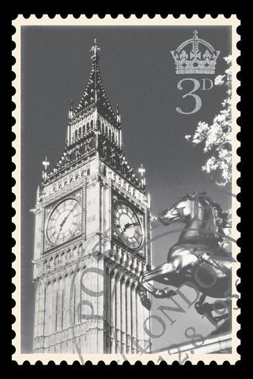 Stamp Collection IV-The Vintage Collection-Giclee Print