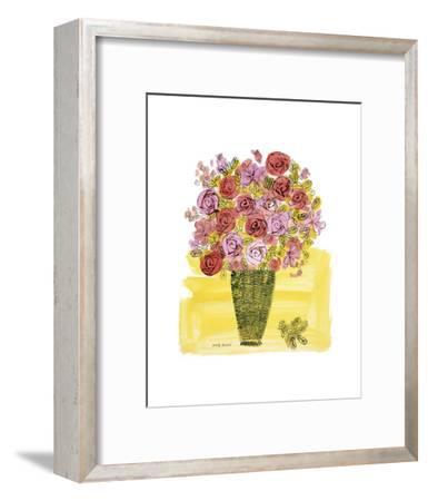(Stamped) Basket of Flowers, 1958-Andy Warhol-Framed Art Print