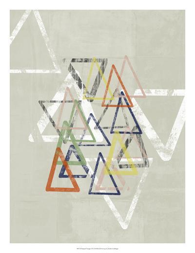 Stamped Triangles I-Jennifer Goldberger-Giclee Print