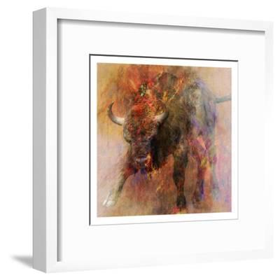 Stampede 2-Sheldon Lewis-Framed Art Print