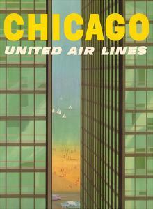 Chicago, USA - Lake Shore Drive - United Air Lines by Stan Galli