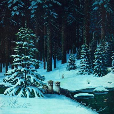 Christmas In the Forest by Stan Galli