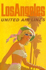 Los Angeles - United Air Lines by Stan Galli