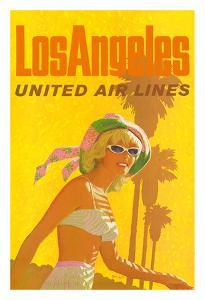 Los Angeles - United Air Lines by Stan Galli