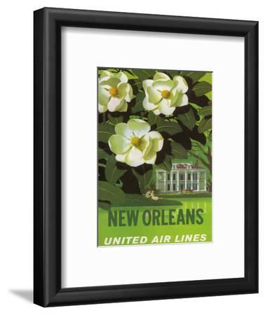 New Orleans, USA, Magnolia Blossoms, Louisiana State Flower, United Air Lines