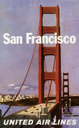San Francisco United Airlines Poster by Stan Galli