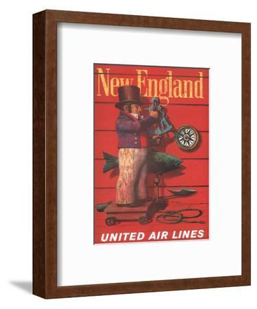 United Air Lines: New England, c.1955