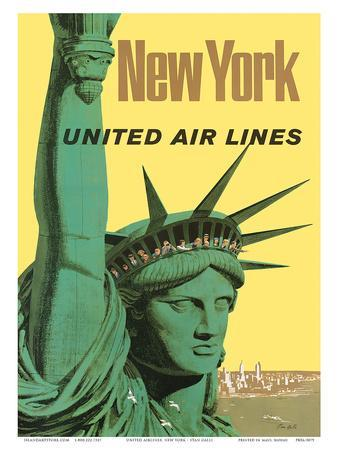 United Air Lines: New York, c.1950s