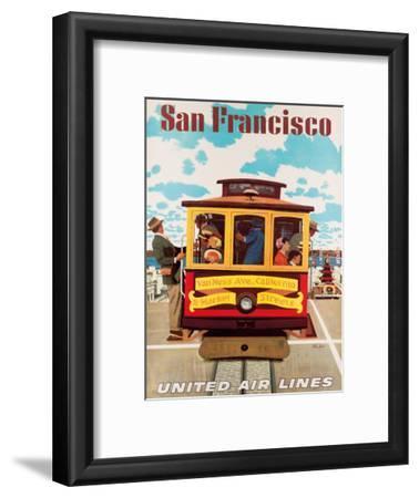 United Air Lines San Francisco, Cable Car c.1957