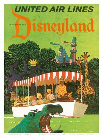 United Airlines Disneyland, Anaheim, California, 1960s