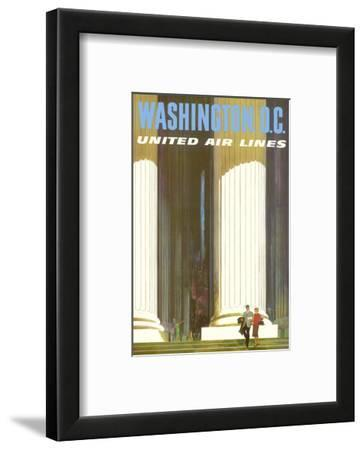 Washington D.C. - Lincoln Memorial - United Air Lines